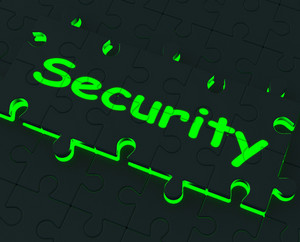 Security Puzzle Shows Restricted Areas