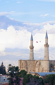 Selimiye Mosque Opposite Blue Sky