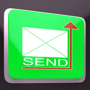 Send Mail Button Showing Mailing Post