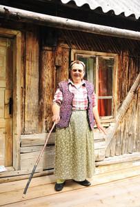 Senior aged woman