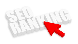 Seo Ranking 3d Text With Arrow Cursor
