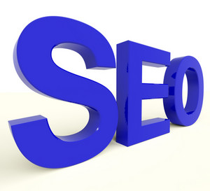 Seo Word Representing Internet Optimization And Promotion