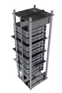 Servers Room Rack
