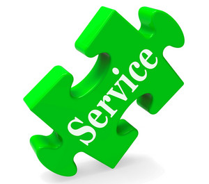 Service Means Help Support And Assistance