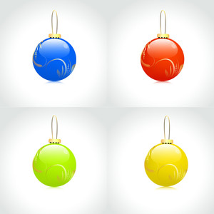 Set Of Christmas Bauble