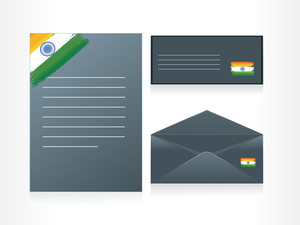 Set Of Letterhead