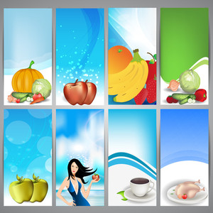 Set Of Medical Banners Or Website Headers.