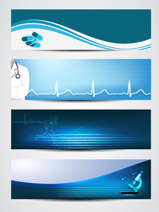 Set Of Medical Banners