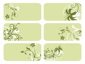 Set Of Six Business Card