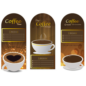 Sets Of Label Design. Menu For Restaurant