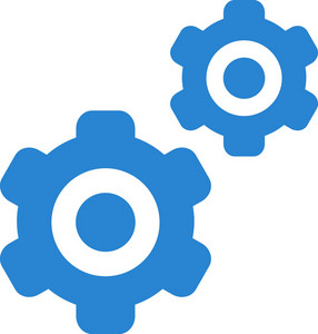 Settings Gears Simplicity Icon