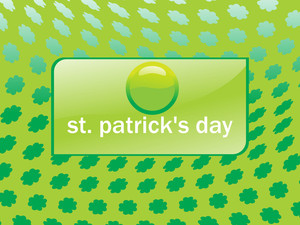 Shamrock Flower Background 17 March