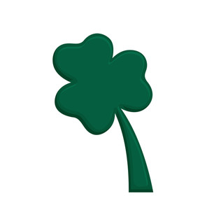 Shamrock Shape Vector Design