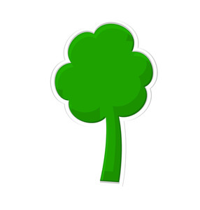 Shamrock Sticker