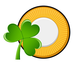 Shamrock Yellow Coin