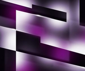 Shapes Dark Violet Background