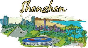 Shenzhen Vector Doodle