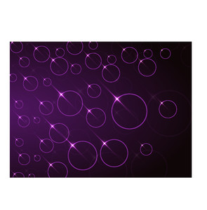 Shiny abstract design decorated glossy purple background.