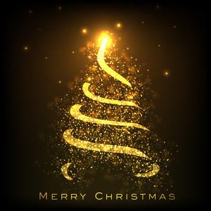 Shiny Christmas Tree.
