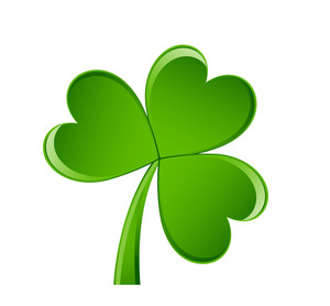 Shiny Clover Leaf