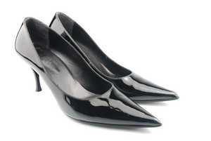 Shiny High Heel Female Shoes
