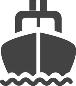 Ship Glyph Icon