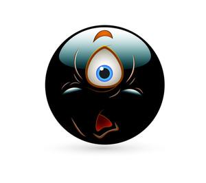 Shocked Alien Smiley