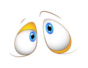 Shocked Cartoon Funny Eyes