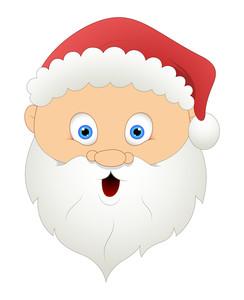 Shocked Santa Face