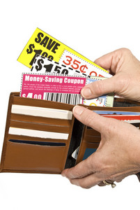 Shopper With Coupons
