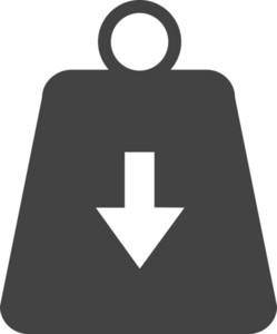 Shopping Bag Glyph Icon
