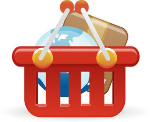 Shopping Lite Ecommerce Icon