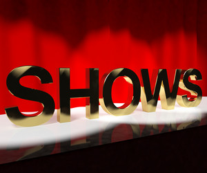Shows Word On Stage Showing Concert Performances Or Live Entertainment