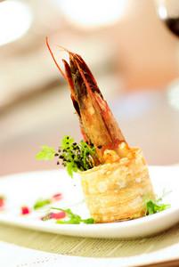 shrimp appetiser