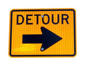 Sign Detour