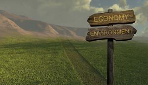 Sign Direction Economy   Environment