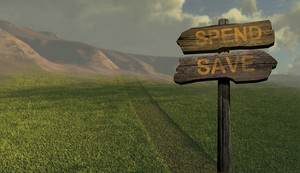 Sign Direction Spend   Save