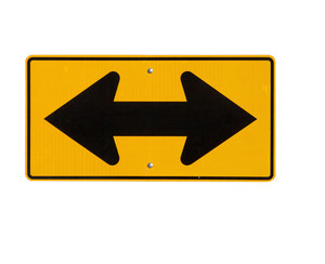 Sign Double Arrow