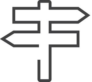 Sign Minimal Icon