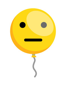 Silent Smiley Balloon