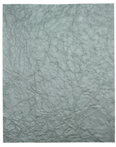 Silver Crinkle Paper