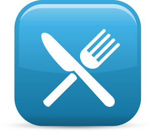 Silverware Elements Glossy Icon
