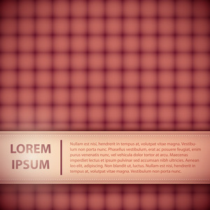 Simple Banner With Header And Text. You Can Use Background As Seamless Pattern.