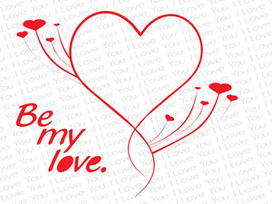 Simple Love Design Cards