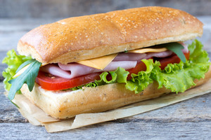 Single Panini Sandwich