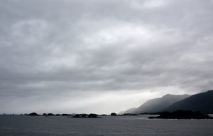Sitka Alaska Gray Morning