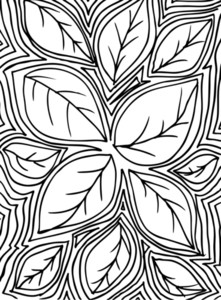 Sketch Of Leafs