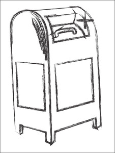 Sketch Of Letterbox