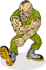 Skull Armyboy