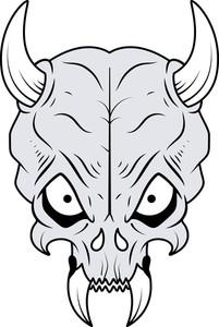Skull In Vector Format